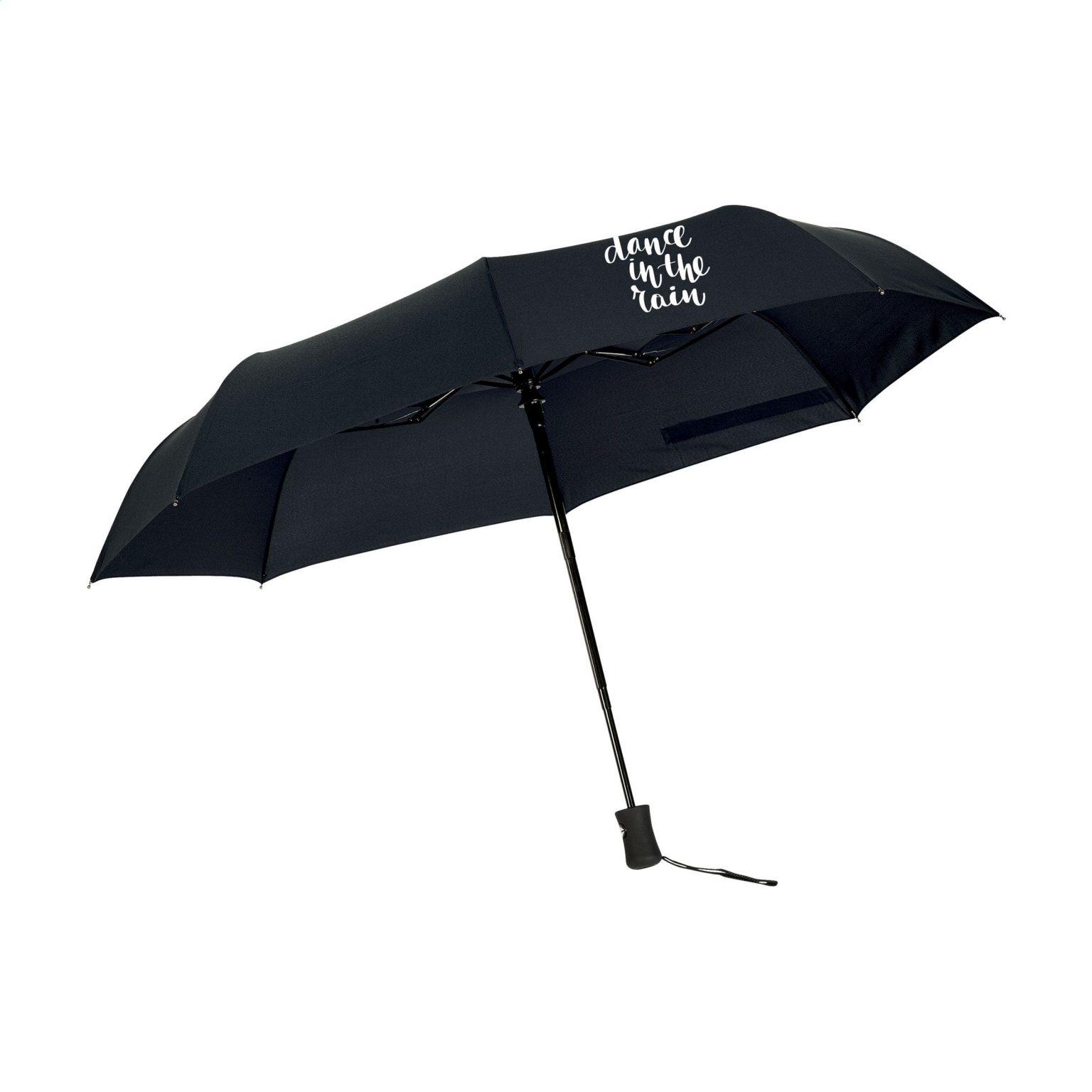 Impulse Regenschirm Schwarz