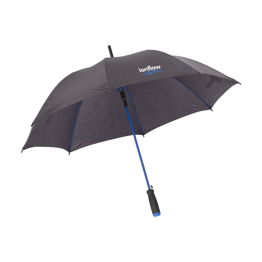 Regenschirm Colorado Black Blau F