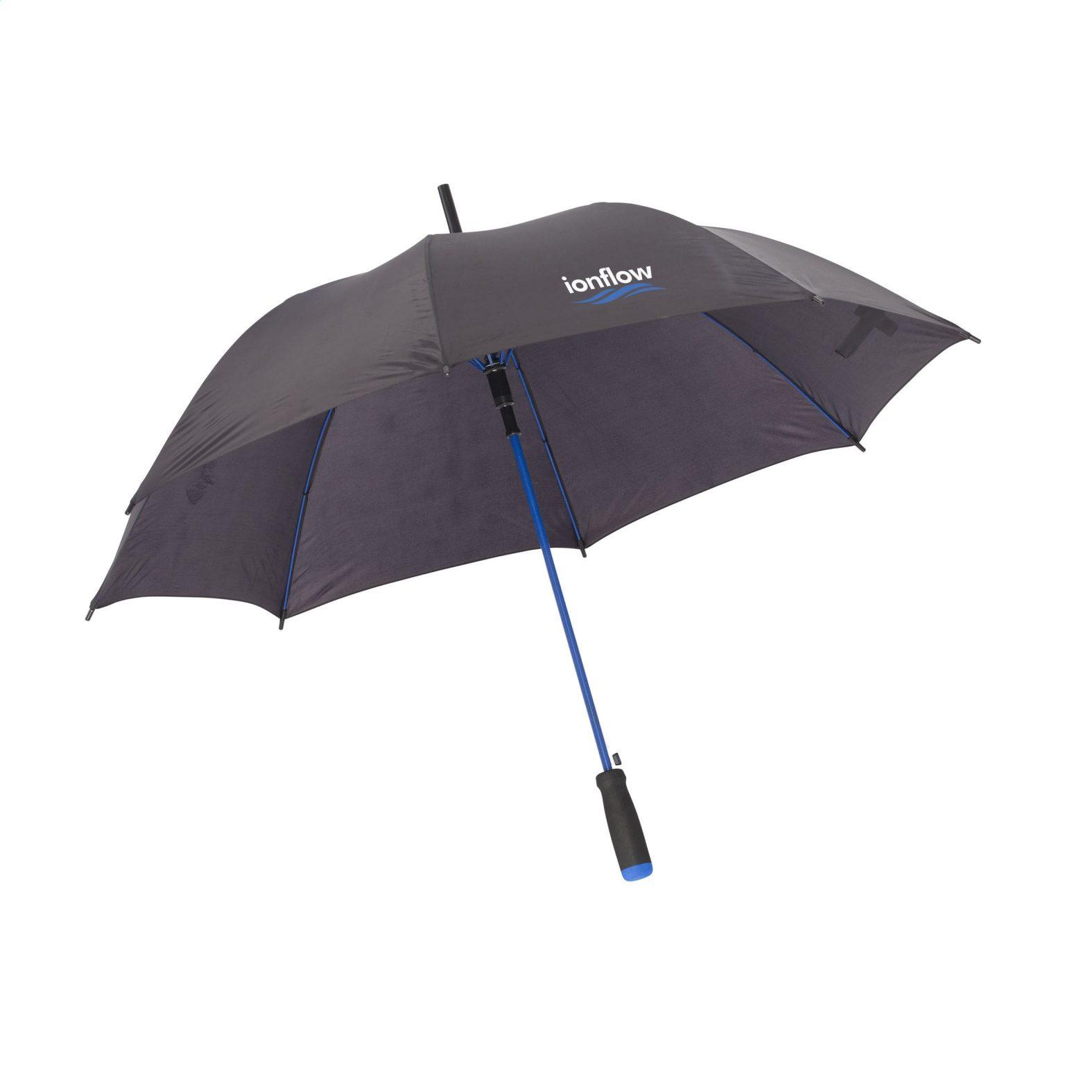 Regenschirm Colorado Black Blau F