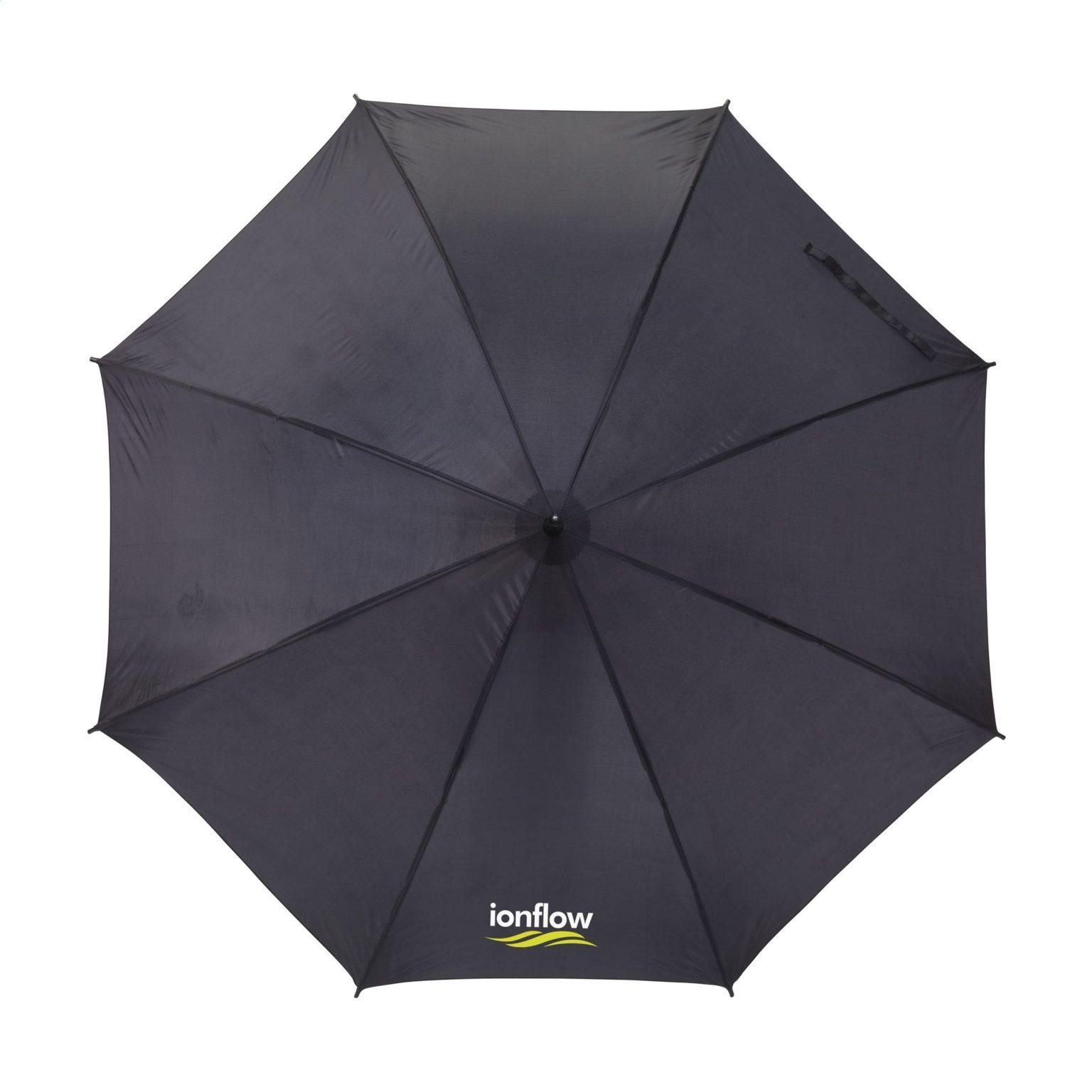 Regenschirm Colorado Black Grün O