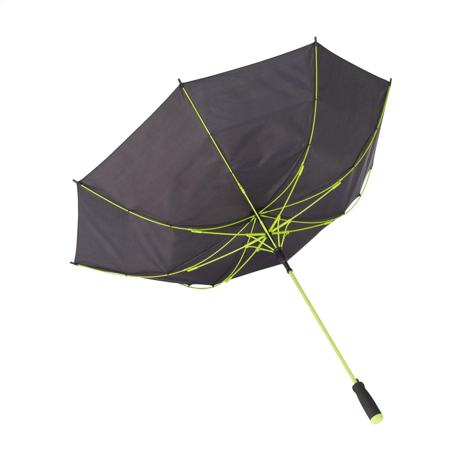 Regenschirm Colorado Black Grün U