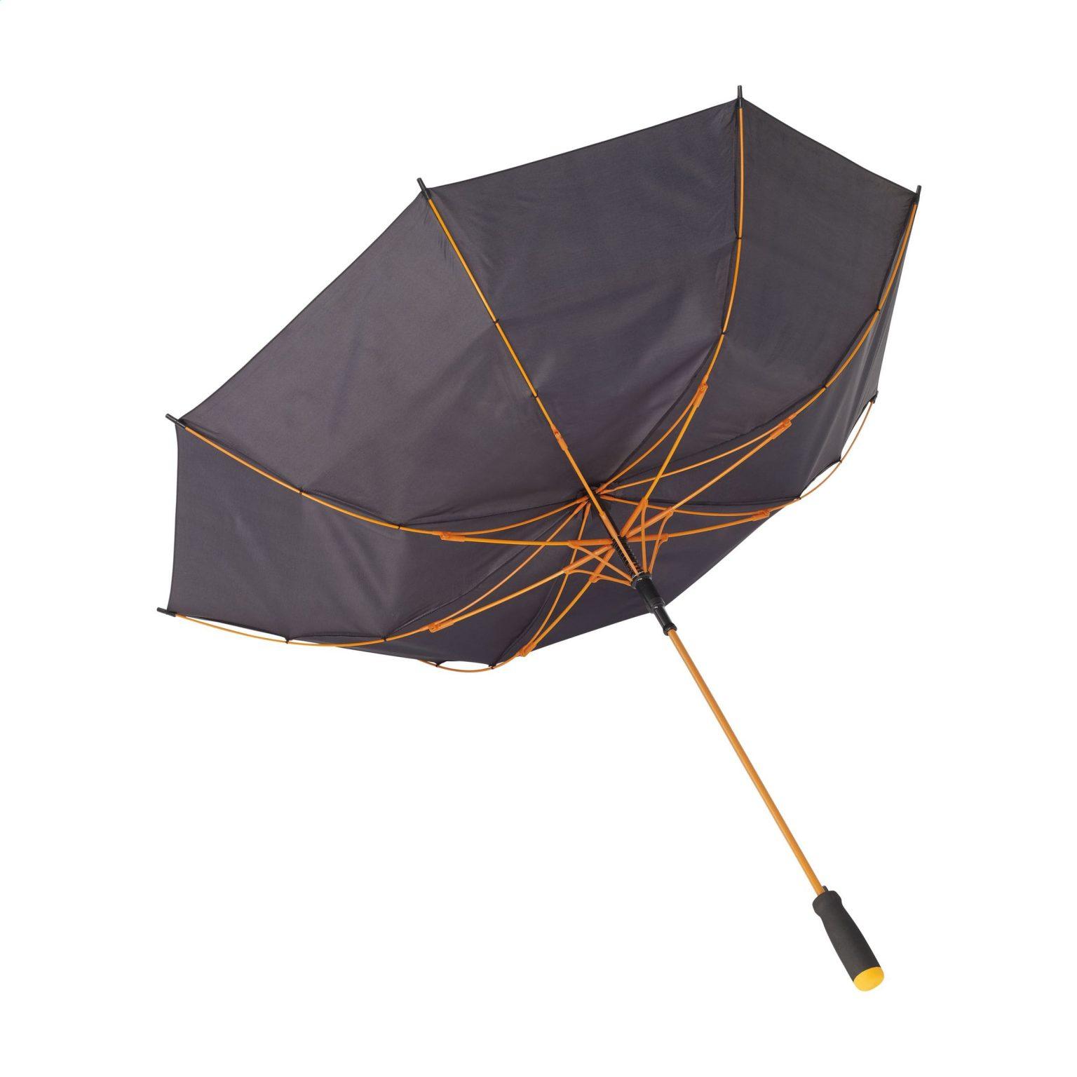 Regenschirm Colorado Black Orange U