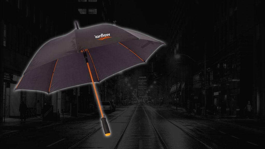 Schirme mit Logo