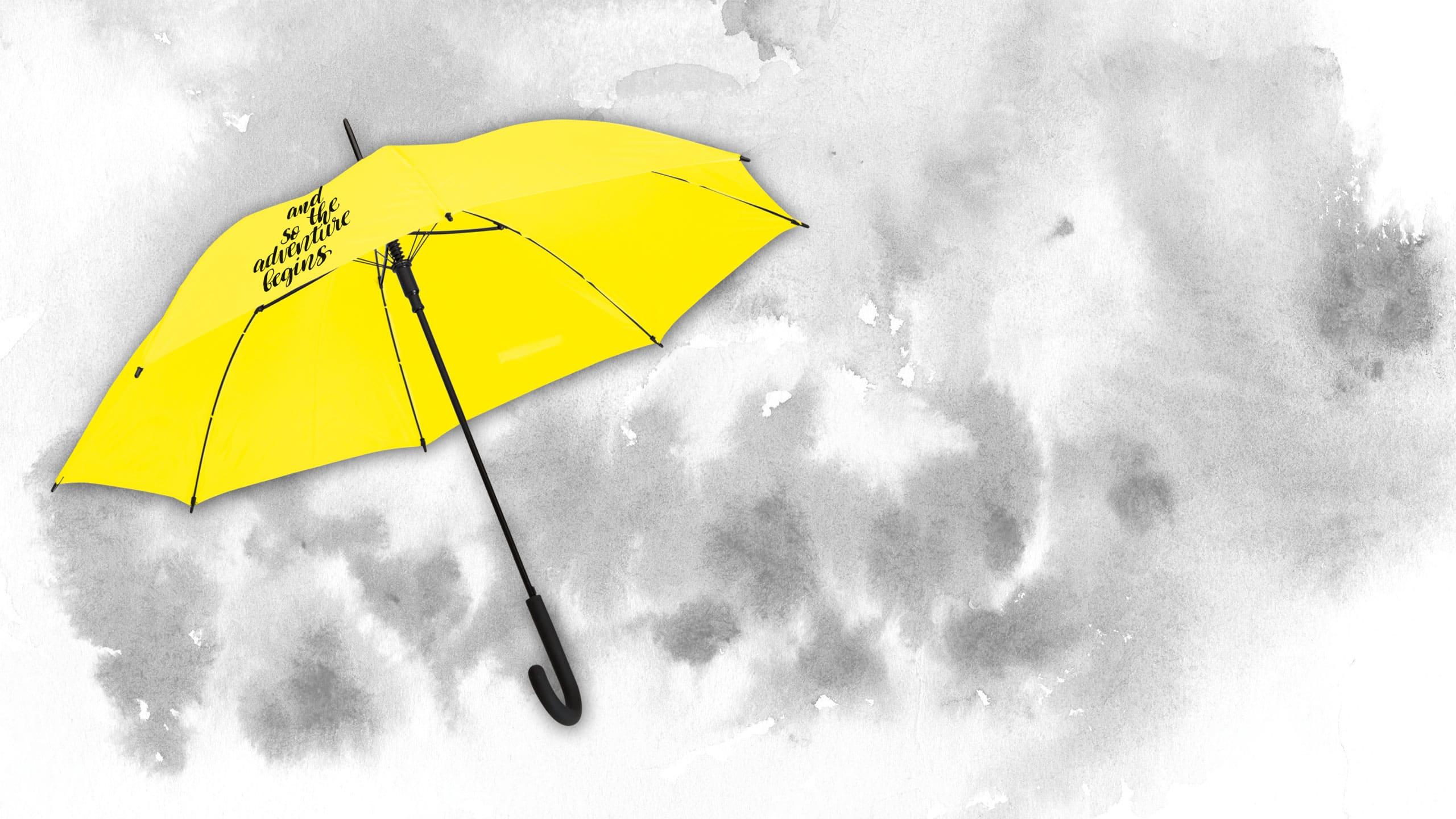 Regenschirm Colorado Classic mit Logo